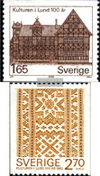 Sweden 1193-1194 (complete Issue) Unmounted Mint / Never Hinged 1982 Museum - Unused Stamps
