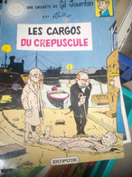 Une Enquétes De Gil Jourdan , Les Cargos Du Crepuscule ,  M . TILLIEUX , DUPUIS ( 1973 ) BE Trace De Bic  ( Nom ) Souple - Gil Jourdan