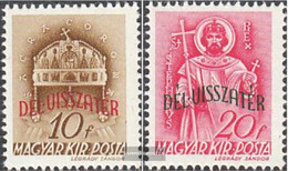 Hungary 655-656 (complete Issue) Unmounted Mint / Never Hinged 1941 Reintegration - Hungary