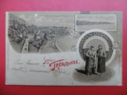 SOUVENIR DE TREBIZONDE CACHET BM CONSTANTINOPLE GALATA PARIS ETRANGER 1902 - Turkey