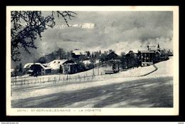 74 - ST-GERVAIS-LES-BAINS - LA VIGNETTE - Saint-Gervais-les-Bains