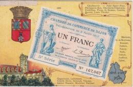 21 - UN BILLET DE LA CHAMBRE DE COMMERCE DE DIJON 1 FRANC - - Dijon