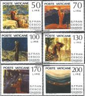 Vatikanstadt 695-700 (complete Issue) Unmounted Mint / Never Hinged 1977 Franz Of Assisi - Vatican