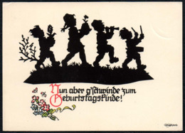 C6421 - Plischke Scherenschnitt Silhouette - Kinder - Scherenschnitt - Silhouette