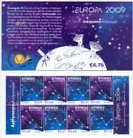 CYP-G 2009 EUROPA CEPT, CYPROS GREECE, BOOKLET, MNH - Europa-CEPT