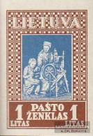 Lithuania 370B Unmounted Mint / Never Hinged 1933 Lietuvos Vaikas - Lithuania
