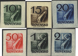 Slovakia 115-120 (complete Issue) Unmounted Mint / Never Hinged 1943 Newspaper Brand - Unused Stamps