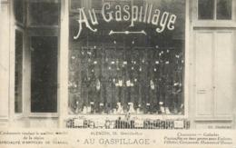 61 ALENCON AU GASPILLAGE Specialitéd'articles De Travail TRES RARE CPA - Alencon