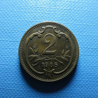 Austria 2 Heller 1908 - Austria