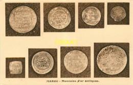 Monnaies, Maroc, Monnaies D'or Antiques - Monete (rappresentazioni)