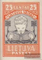 Lithuania 367B Unmounted Mint / Never Hinged 1933 Lietuvos Vaikas - Lithuania