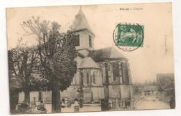 PLIVOT L'EGLISE  / CARTE TAXEE / TIMBRE TAXE / CACHET TRIANGULAIRE TAXE B1169 - Autres Communes