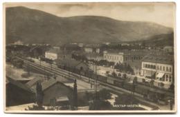 MOSTAR - BOSNIA AND HERZEGOVINA, BAHNHOF RAILWAY STATION, Year 1946 - Bosnie-Herzegovine