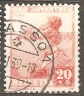 Switzerland: Pro Juventute, 1 Used Stamp From A Set, Women Costume 1938, Mi#333(2) - Pro Juventute