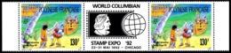 POLYNESIE 1992 - Yv. 409A ** TB Bdf  Faciale= 2,18 EUR - World Columbian Stamp Expo '92  ..Réf.POL24621 - Polynésie Française