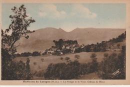 19 / 11 / 72. -   ENV. DE  LARAGN ( 05 ). LE  VILLAGE  &  LE  VIEUX  CHÂTEAU - Andere Gemeenten