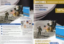 Briefmarken Rundschau MICHEL 09/2019 New 6€ Stamps Of The World Catalogue/magacine Of Germany ISBN978-3-95402-600-5 - Tematica