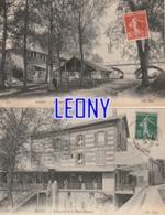 2  CPA De  POISSY (78) -  RESTAURANT De La REINE BLANCHE N° 168- 111- ANIMATIONS - Poissy