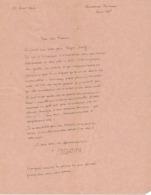 3 Lettre Autographes Et Documents Suzanne BERTILLON Journaliste, Décoratrice Nièce Alphonse Bertillon - Autógrafos