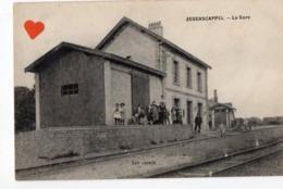 03254-LE-59-ZEGERSCAPPEL-La Gare ------------environ 1542 Habitants------------cachet Ambulant : HAZEBROUCK A DUNKERQUE - Autres Communes