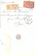 PYRENEES ATLANTIQUES : RECOMMANDÉ PAU - A A TàD RECETTE AUXILIAIRE URBAINE Du 30-4-17 - SOCIÉTÉ DES AGRICULTEURS... - Marcofilie (Brieven)