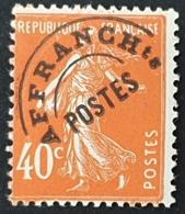 Timbres Préoblitérés  N° 64 Neuf ** Gomme D'Origine Signé SCHELLER  TTB - 1893-1947