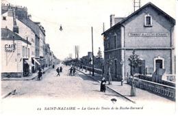 CPA St Nazaire La Gare Du Train De La Roche Bernard - Saint Nazaire
