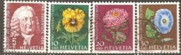 Switzerland: Pro Juventute, 4 Used Stamps From A Set, 1958, Mi#663-666 - Pro Juventute