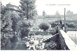 CPA Fougetres Les Lavoirs Du Chateau - Fougeres