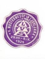 1925 SLOVENIA,  LJUBLJANA, MUSTERMESSE, PATTERN FAIR, POSTER STAMP IN PURPLE - Slovenia
