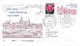 GERMANY Mi. Nr. 3290 1000 Jahre Stadt Neunburg Vorm Wald - FDC - BRD