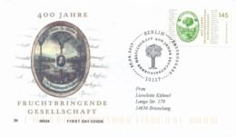 GERMANY Mi. Nr. 3328 400 Jahre Sprachakademie - FDC - FDC: Enveloppes