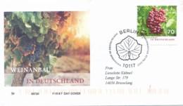 GERMANY Mi. Nr. 3334 Weinanbau In Deutschland - FDC - FDC: Covers