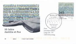GERMANY Mi. Nr. 3339 50 Jahre Deutsche Kommission Justitia Et Pax. - FDC - FDC: Covers