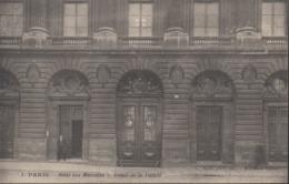 """PARIS """"75""""__  HOTEL DES MONNAIES  __DETAIL DE LA FACADE - District 06"""
