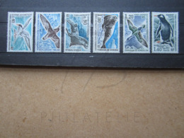 VEND BEAUX TIMBRES DES T.A.A.F. N° 55 - 60 , XX !!! - Unused Stamps