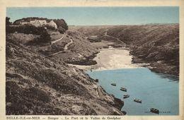 CPA BELLE-ILE-en-MER - Bangor - Le Port Et Le Vallon De Goulphar (145017) - Belle Ile En Mer