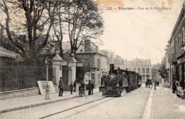 18 Vierzon, Rue De La République, Train - Vierzon