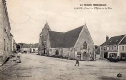 61 Preaux, L'église Et La Place - Francia