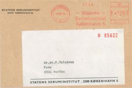 Statens Serum Institut SSI Kopenhagen 1974 AFS - Médecine