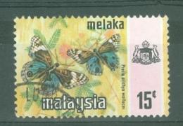 Malaya - Malacca: 1971/78   Butterflies   SG80    15c   [Photo]   Used - Malacca