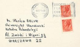 Impfung Polio Kinderlähmung Mailand 1971 - Medizin