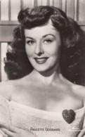 CPA - Paulette Goddard - Actors