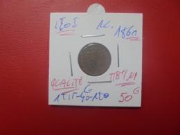 LéOPOLd 1er. 1 Centime 1861 QUALITE :TTB+/SUP (A.1) - 1831-1865: Léopoldo I