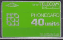 UK Phonecard British Telecom 40 Units - BT Algemeen