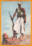 Circa 1930 - Somalia Colonia Italiana - Dubat - Soldato Irregolare - Ediz. D'Arte V E BOERI - Roma - Somalia