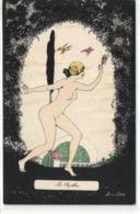 """Les Papillons """"femme Nue"""" - Sager, Xavier"""