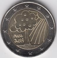 MONEDA 2 € MALTA 2019 NATURALEZA - Malta
