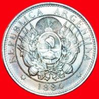 + LIBERTY (1882-1896): ARGENTINA ★ 2 CENTAVOS 1884! LOW START ★ NO RESERVE! - Argentinië