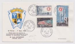 FRANCE - T.A.A.F. Lettre Avec N°20,21 Et PA 7. - Airmail